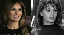 'Spot the Difference': D&G Co-Founder Compares Melania Trump to Movie Star Sophia Loren