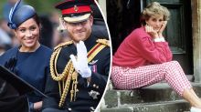 Fans praise Harry and Meghan's touching Instagram tribute to Diana