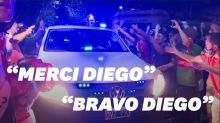 Après la mort de Diego Maradona, Buenos Aires a des allures de stade