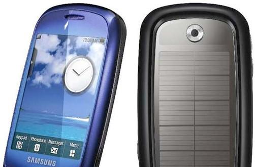 Samsung unveils Blue Earth, a solar-powered mobile phone