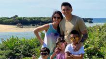 LJ Moreno and family are migrating to the US