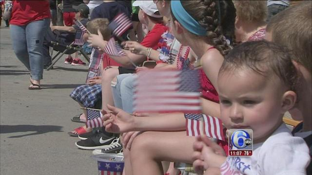 VIDEO: Memorial Day across the area
