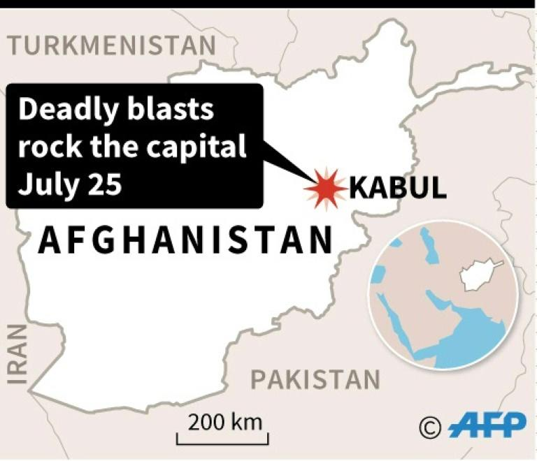 At least seven killed as three blasts rock Kabul