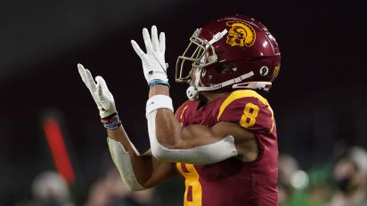 USC's St. Brown stands out in deep WR draft class