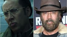 Nicolas Cage cambia de aspecto para el estreno de 'Running with the Devil'