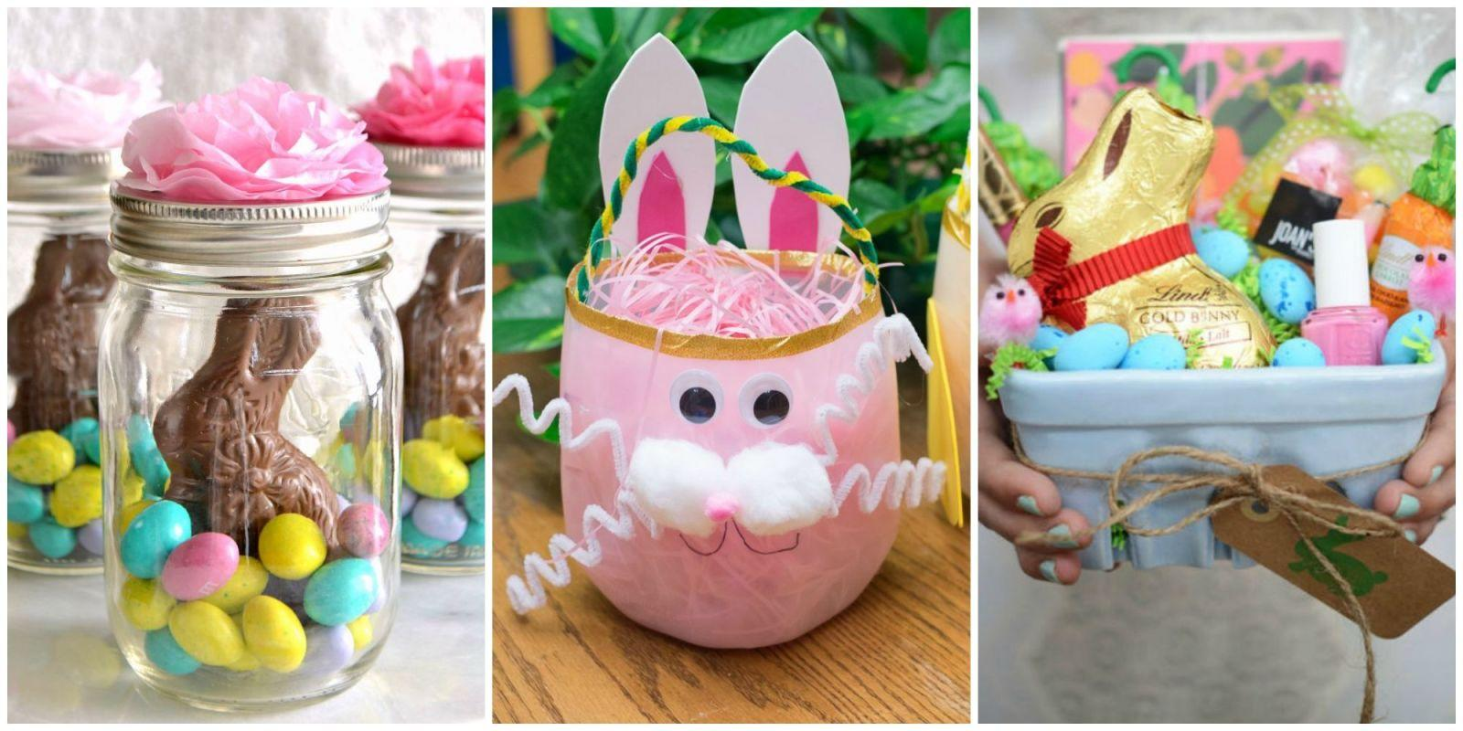 23 Cute Homemade Easter Basket Ideas