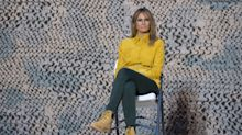 Melania Trump mocked for wearing Timberland boots while visiting troops