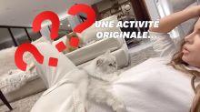 Le confinement rend fou, particulièrement Kate Beckinsale et son chat