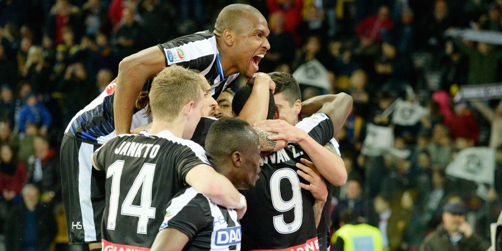Udinese-Palermo 4-1: Il poker friulano spinge i rosanero verso la B