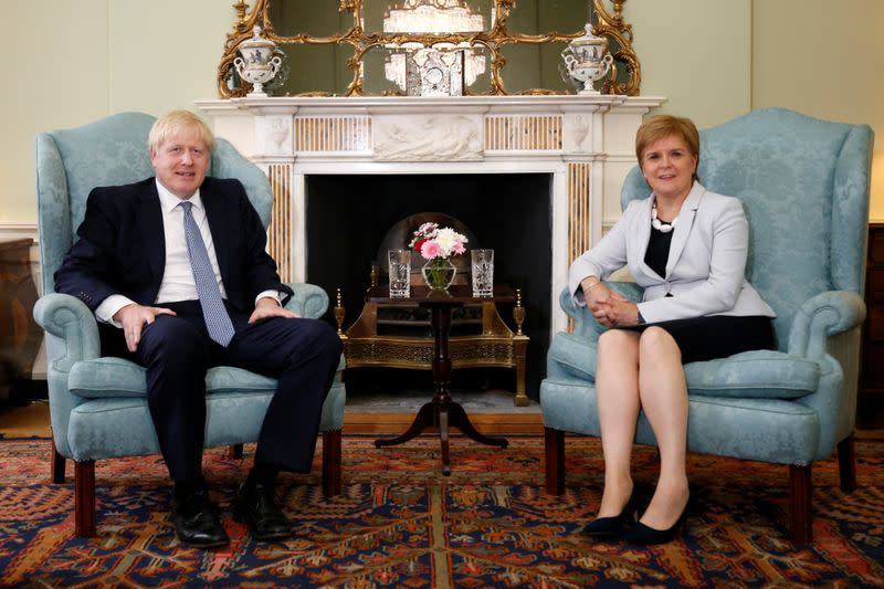 UK PM blocks plan to invite Scottish First Minister to cabinet meetings: FT