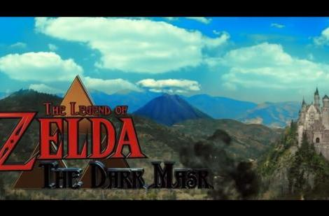 Link puts on his battle face in Legend of Zelda: The Dark Mask fan film
