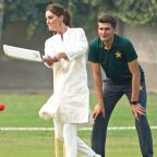 Royal Mother-Daughter Twinning! Kate Middleton Wears Princess Charlotte's Go-To Shoes to Play Cricket