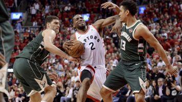 Raptors work two overtimes to beat Bucks