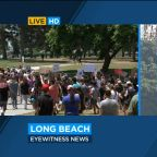 Peaceful protest unites diverse crowd from Long Beach