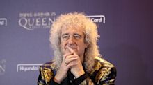 Brian May says he's been crawling around the house on his 'hands and knees' in health update