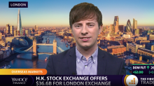 H.K. stock exchange offers $36.6B for London exchange