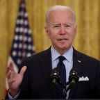 Biden sees infrastructure compromise, despite Republican 'red line' on taxes