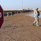 10 rockets hit a base hosting US troops in Iraq, the 2nd such attack in a month
