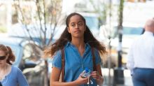 Malia Obama Celebrates the Warm Weather in Minidress