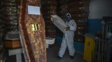 Brazil tops 25,000 virus deaths