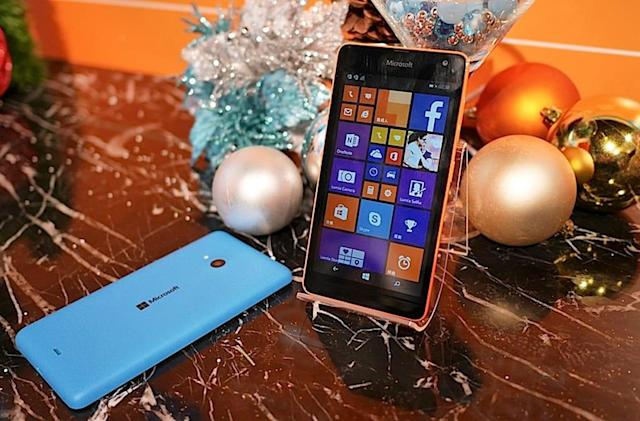 Microsoft phone sales fell 54 percent because of 'updated strategy'