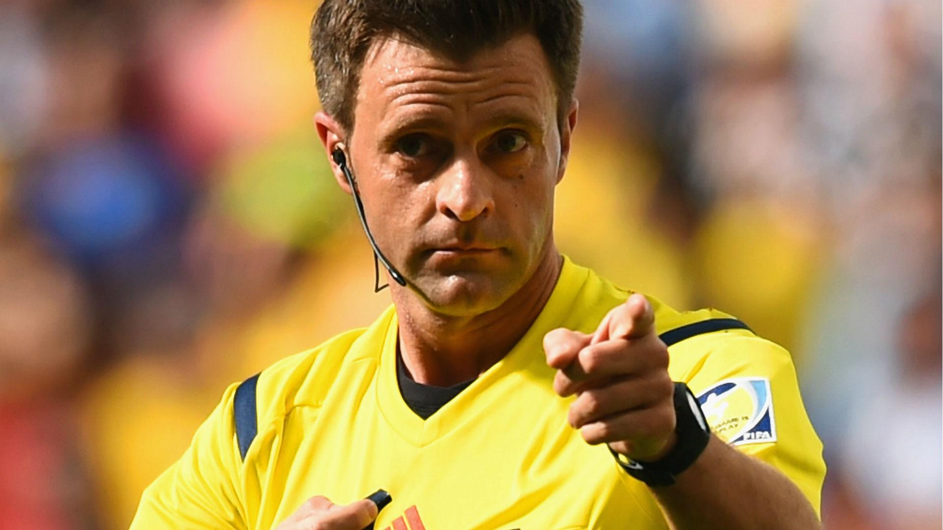 World Cup final referee heads list of Euro 2016 officials