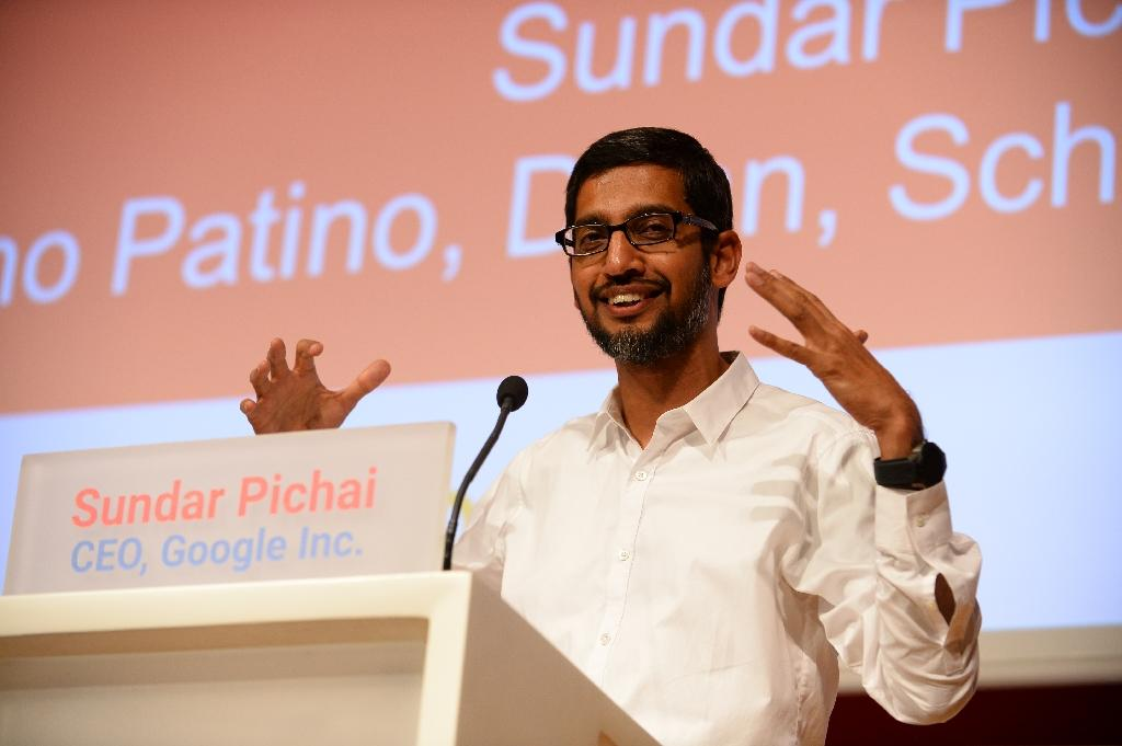 Analysts anticipate Google will expand on a vision laid out by chief Sundar Pichai at its developers conference early this year (AFP Photo/Eric Piermont)