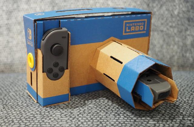 Nintendo's Vehicle and VR Starter Set Labo kits are $20 each at Best Buy