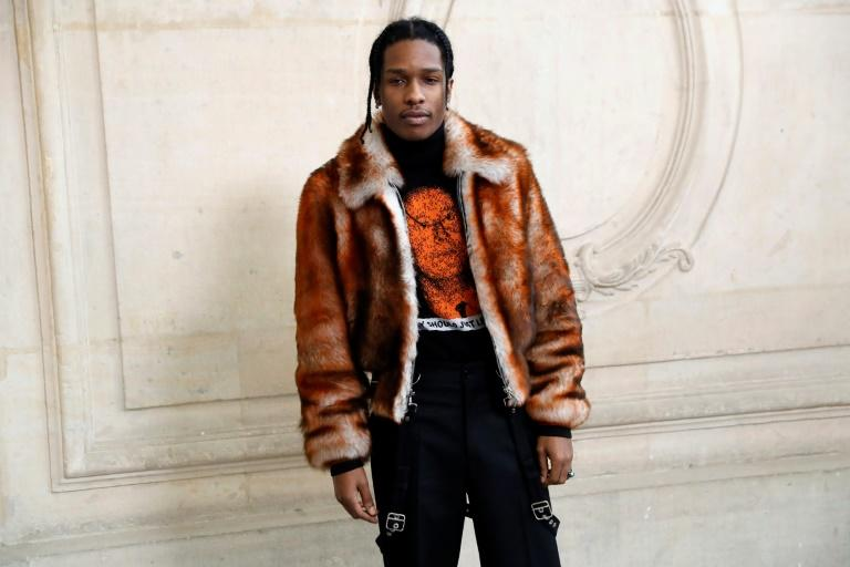 ASAP Rocky has been detained in Stockholm since July 3, sparking a social media campaign for his release (AFP Photo/Patrick KOVARIK)