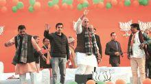 Delhi Assembly polls 2020: Rajnath allays CAA fears, invokes Anna Hazare