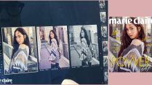 Jessica Jung封面拍攝幕後花絮公開!潔西卡真人充滿仙氣,皮膚狀態亦很好!