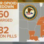 Dozens charged in major opioid bust across U.S.
