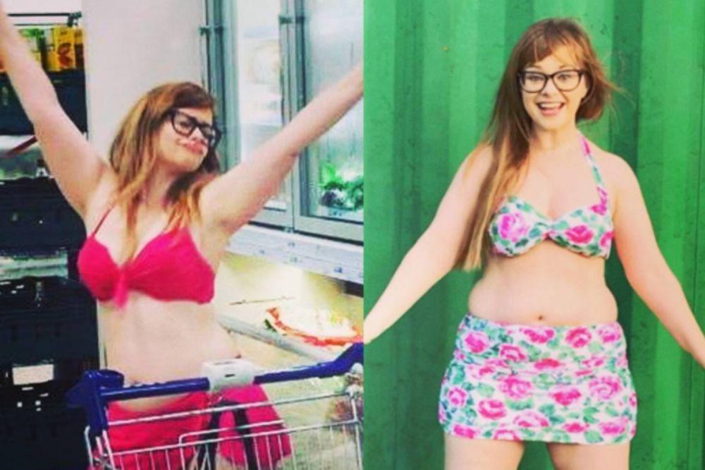 Mom's 'Bikini Karaoke' video inspires body confidence