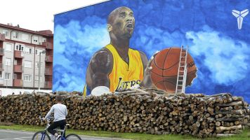Massive Kobe mural may be biggest in Europe