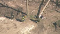 RAW: Chicago firefighters participate in Disaster Drill in Englewood