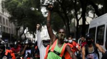 In Brazil, delivery drivers for Uber, Rappi and others protest amid pandemic