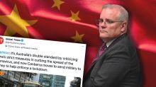 China lashes Australia over Covid 'double standards'