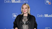 'He's the president': Lindsay Lohan avoids questions about Trump and comments he made when she was 18