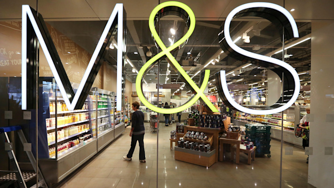 M&S profits plunge on store closure costs