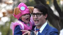 Justin Trudeau's son wore this adorable dress for Halloween — but not everyone is happy