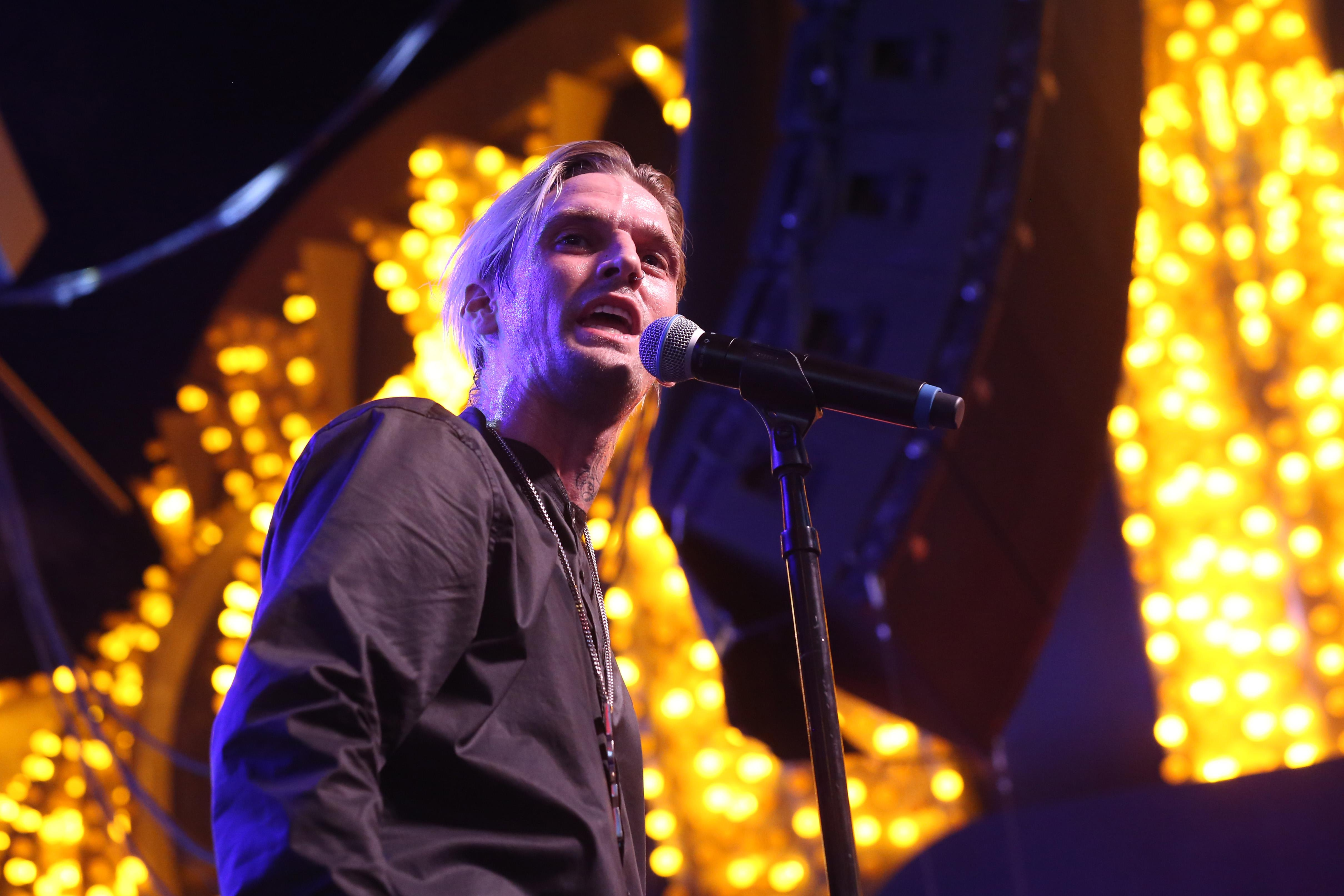 Aaron Carter criticised for 'severely racist' post: 'Ignorance at its finest'