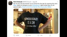 Student's 'Homosexuality is a sin' shirt didn't violate dress code, Tennessee suit says