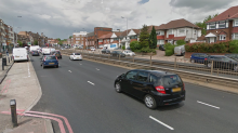 Hendon crash: Man found with stab injuries after three-car crash on busy road