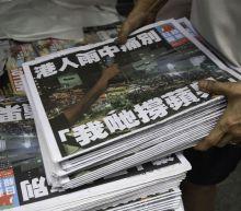 Hong Kong's last pro-democracy newspaper prints 1 million copies of final edition