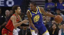 NBA: Warriors drop Hawks as Green serves suspension