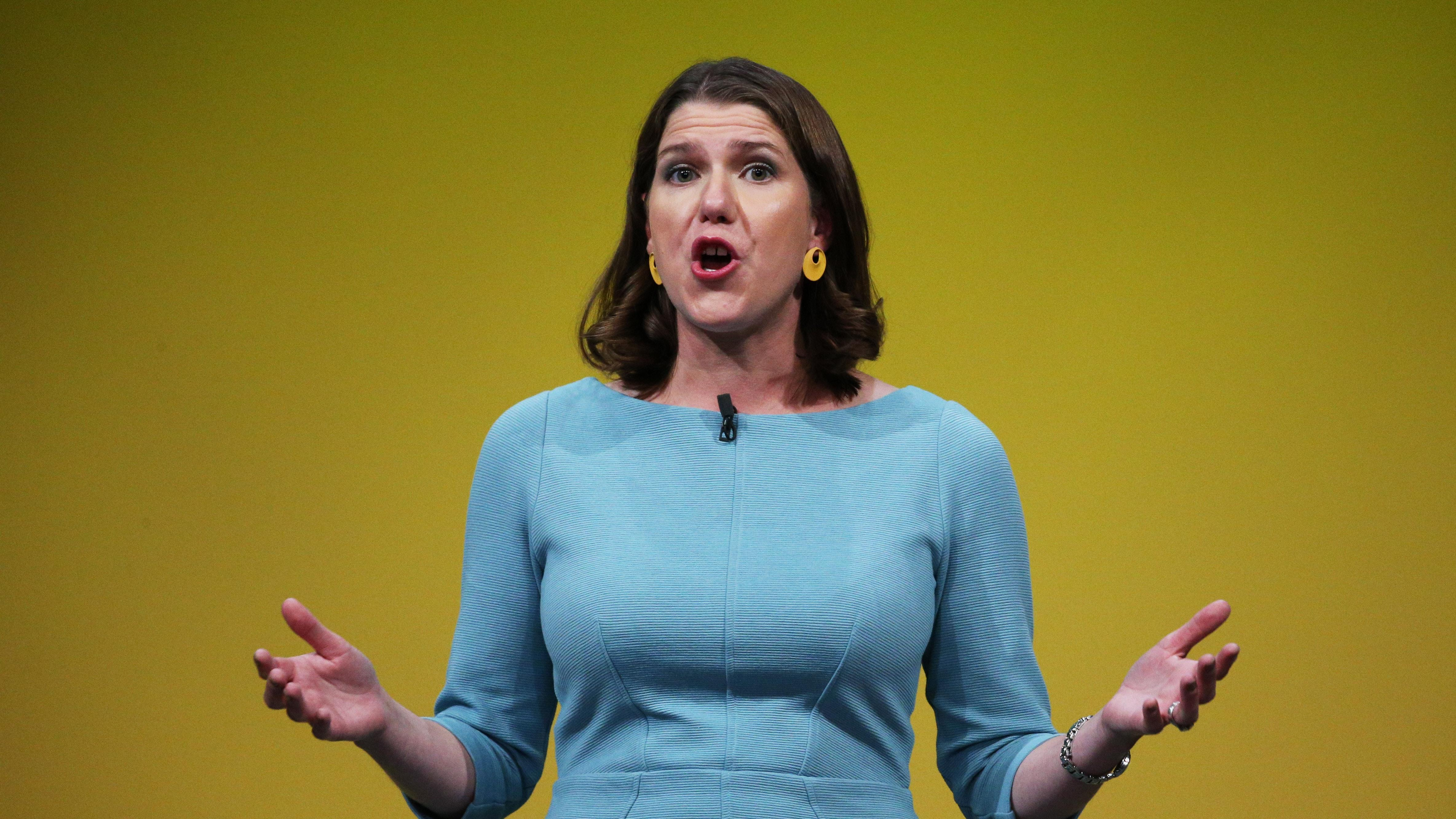 Swinson says Corbyn is 'not fit to be prime minister'