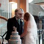Groom Got to Wear a Football Helmet at His Wedding Thanks to His Selfless Bride