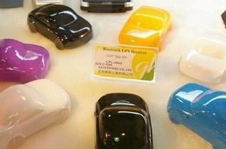 Gold Kiwi's toy car GPS receiver with Bluetooth