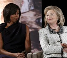 Michelle warms to Hillary just in time for the campaign