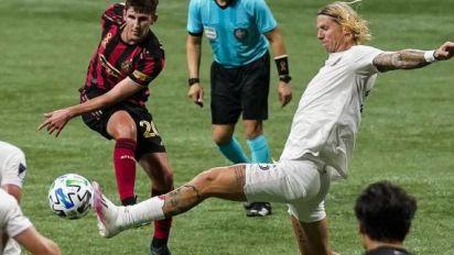 Foot - MLS - Miami - MLS: l'Inter Miami remporte le premier match à l'extérieur de son histoire